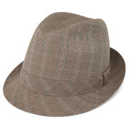 Tirol Glen Plaid Fedora