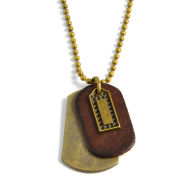 Gouden Ketting Dogtag