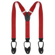 Breite Rote Hosenträger Zum Knöpfen