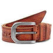 Vintage Gradient Ledergürtel Mit Verzierungen