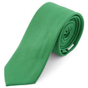 Smaragdovo-zelená kravata Basic 6cm