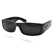Klassische schwarze Sonnenbrille