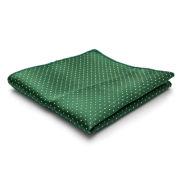 Πράσινο Μαντήλι Σακακιού με Βούλες