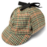 Rutete Deerstalker Hatt - L/XL