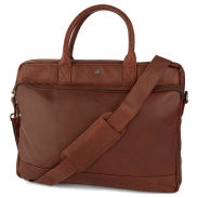 Oxford Brown Laptop Leather Bag