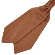 Cravate basique brun clair