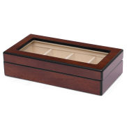 Elegante scatola porta gemelli in legno