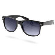 Black Faded Retro Sunglasses