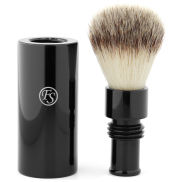 Brocha de afeitar de viaje sintética negra