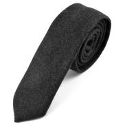 Raw Handmade Dark Gray Tie