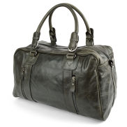 Matan Olive Green Weekend / Sports Leather Bag