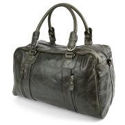 Matan Olive Green Weekend / Sports Leather Bag