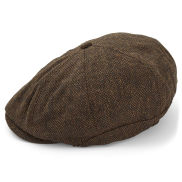 Brown Paperboy Flat Cap