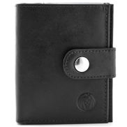 Black Multi Wallet with RFID Blocker