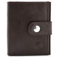 Hnědá multifunkční peněženka s RFID ochranou