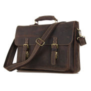 Marlano Dark Brown Leather Case