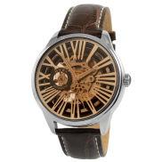 Bruin Automatisch Horloge