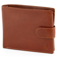 Tan Ergonomic Jasper Leather Wallet