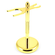 Gold-coloured Classic Shaving Stand