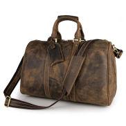 Víkendová taška Camel Leather