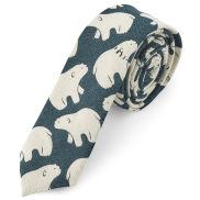 Corbata con oso polar