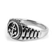 Mužný ocelový prsten Námořník