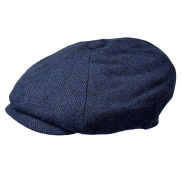 Blue Newsboy Cap