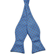 Dotted Self-Tie Bow Tie