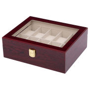 Rosewood Watch Case - 10 Watches