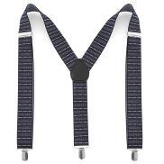 Bretelles à rayures horizontales