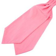 Cravate classique rose vif