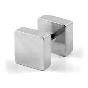 8mm Square Stud Earring