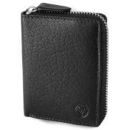 Black Montreal RFID Leather Cardholder