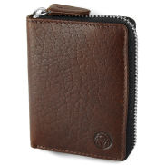 Tan Montreal RFID Leather Cardholder