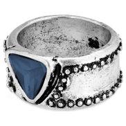 Bague Marcel à pierre bleue