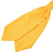 Foulard basic giallo canarino