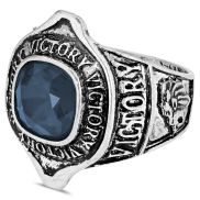 Sininen Morgan-sormus