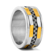 Indy Design Steel Ring