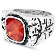 Punainen Misha-sormus