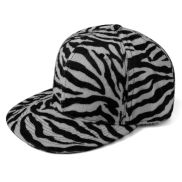 Zebraprint Snapback Pet
