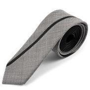 Corbata de lana ejecutiva gris