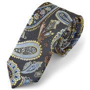 Classica cravatta con fantasia Paisley