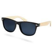 Óculos de Sol Polarizados em Bambu Pretos