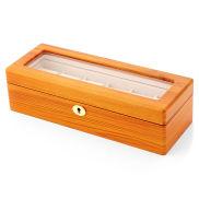 Blonde Ash Wood Watch Case - 6 Watches
