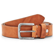 Cognac Tan Leather Belt
