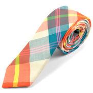 Corbata de lana colorida