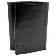 Black Trifold Wallet