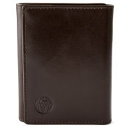 Brown RFID TriFold Wallet