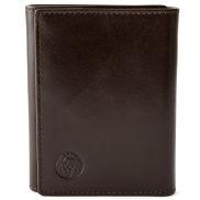 Braune Geldbörse mit RFID-Blocker