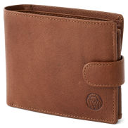 Tan Ergonomic California Leather Wallet